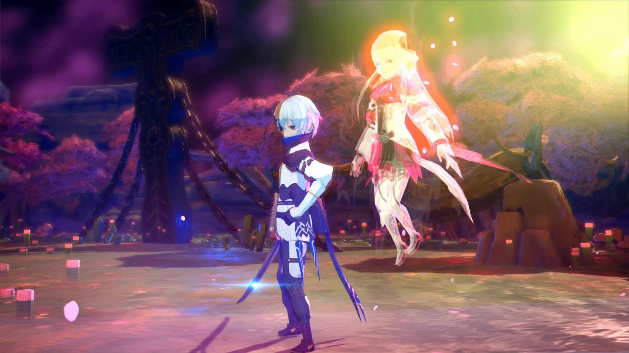 Oninaki has a beautiful art style