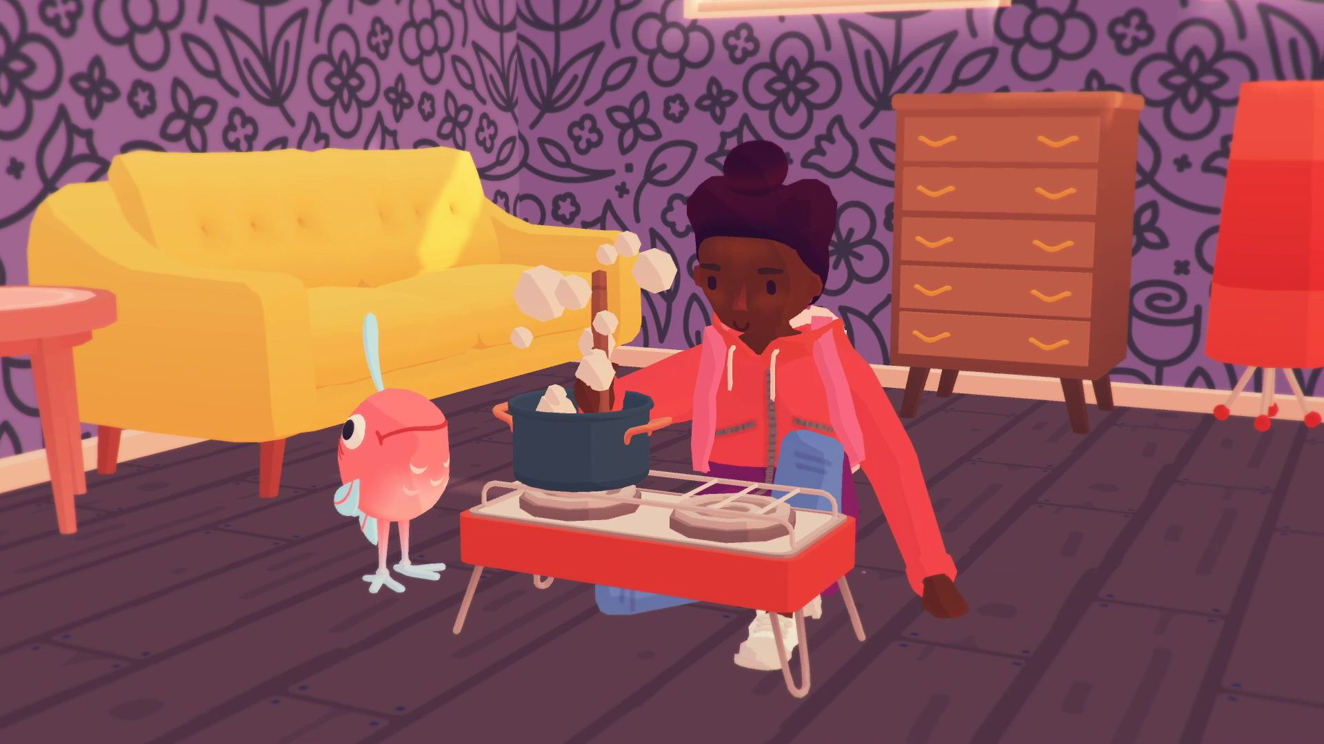 Ooblets, cooking!