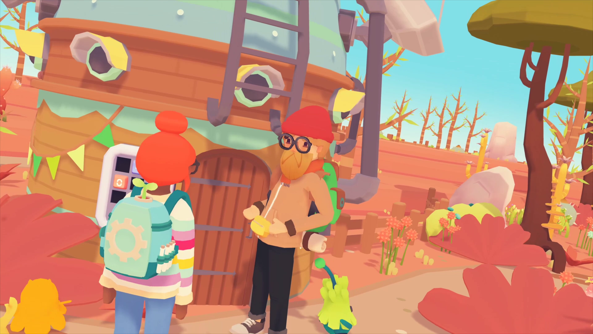 A screenshot from Ooblets early access