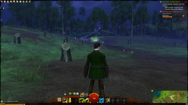 Guild Wars 2 - Overlooking a Giant Battle