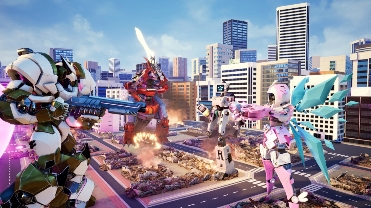 Override Mech City Brawl review