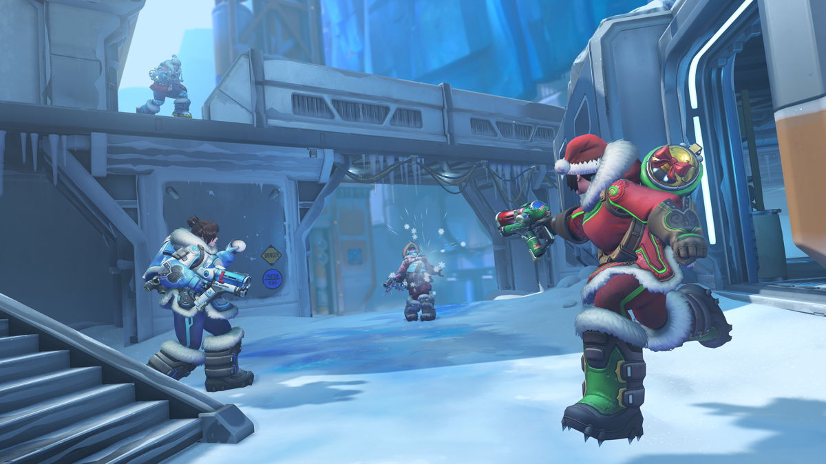 Winter Wonderland is live on Overwatch