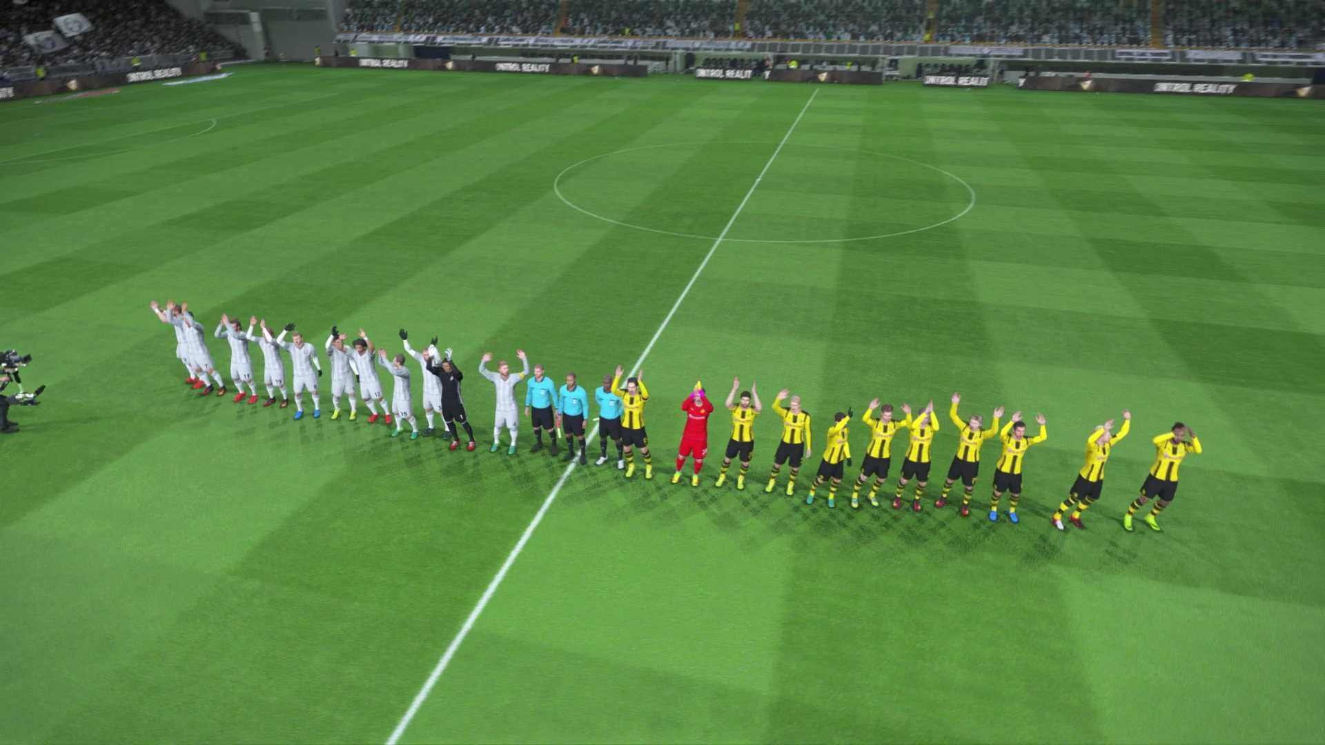 PES 2017 opening pitch