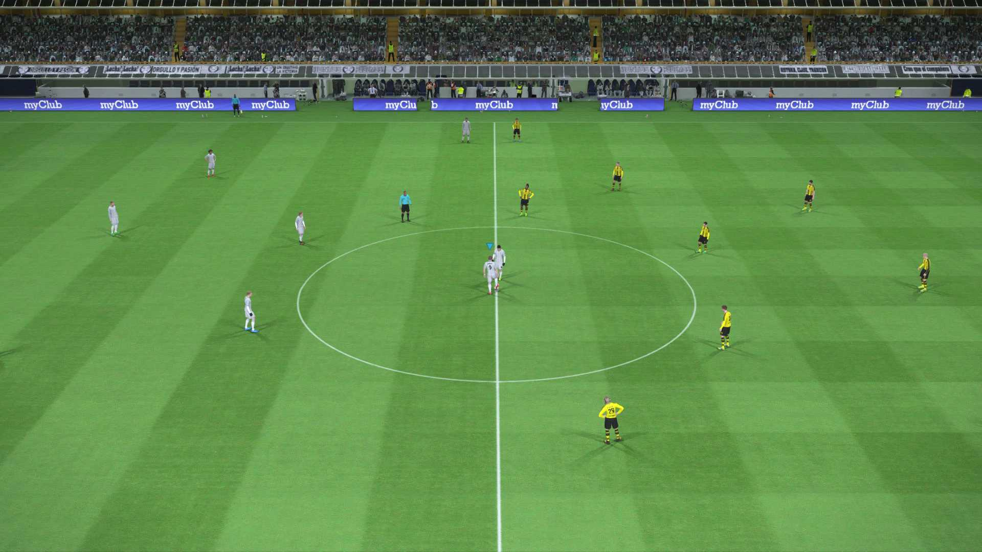 PES 2017 real vs dortmund