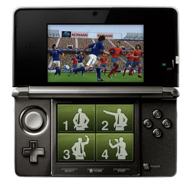 PES 2012 3DS - Tactics