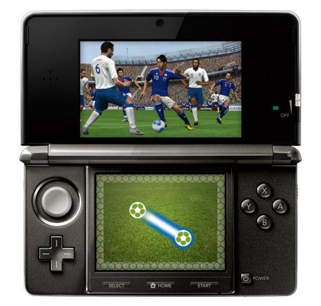PES 2012 3DS - Dribbling