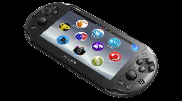 PS Vita Slim Front