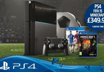 PS4 FIFA Minecraft Bundle Featured