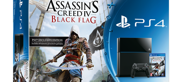 Ubisoft Announce Assassin's Creed IV PS4 Bundle