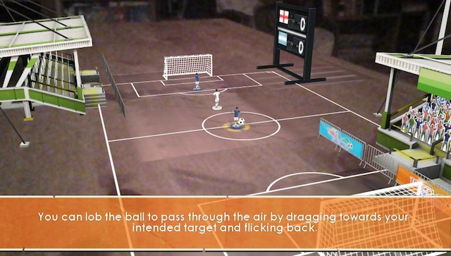 PSVita AR Games - Table Football
