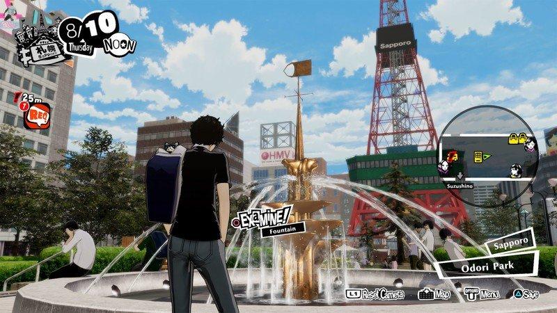 Persona 5 Strikers Sapporo