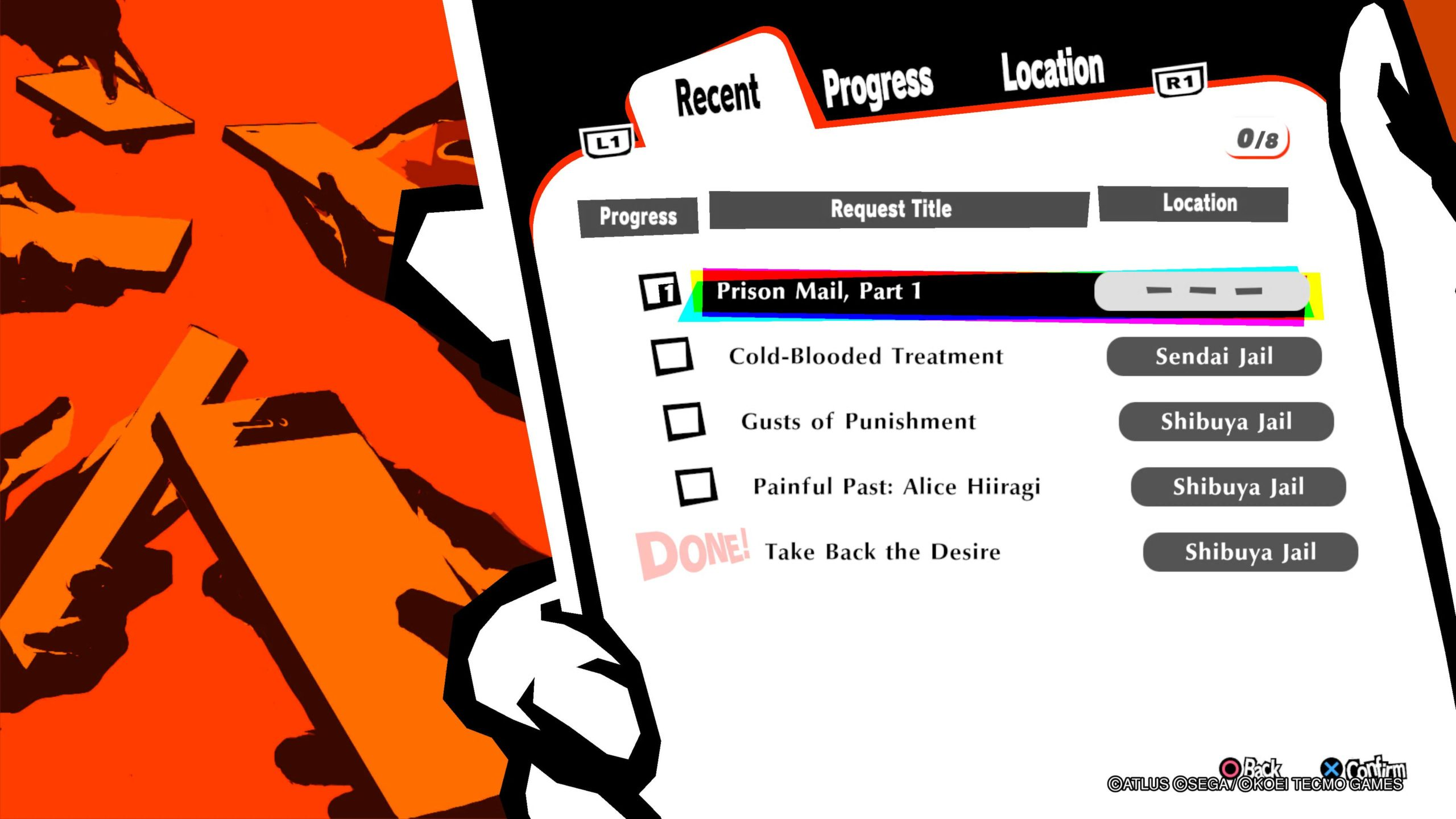 Persona 5 Strikers Requests