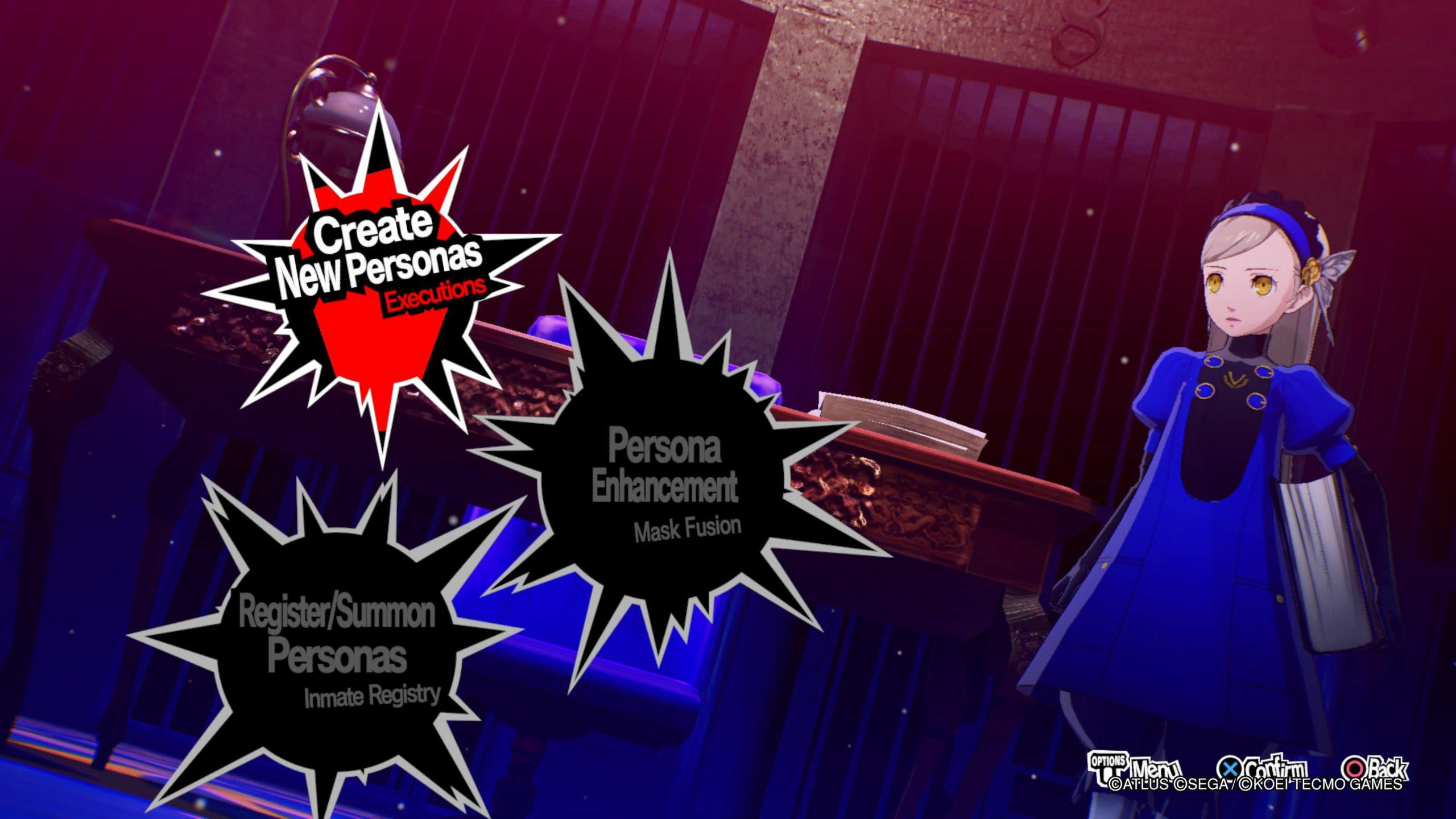 Persona 5 Strikers Persona guide