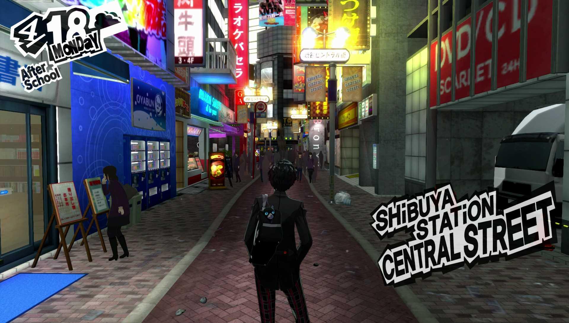 Persona 5 shibuya station
