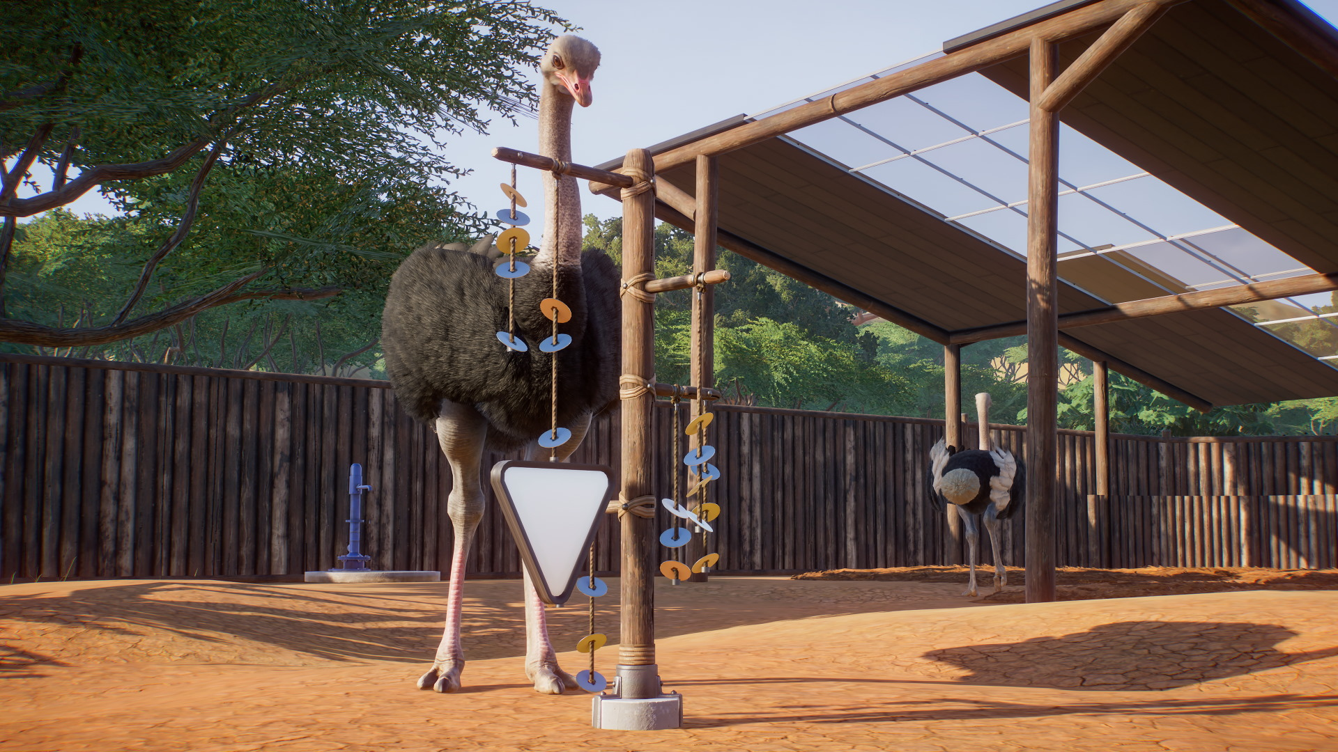 A screenshot from the Planet Zoo beta