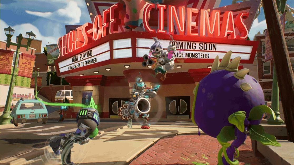 Plants Vs Zombies Battle for Neighborville Cinema