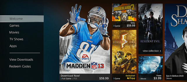 PlayStation Store Featured