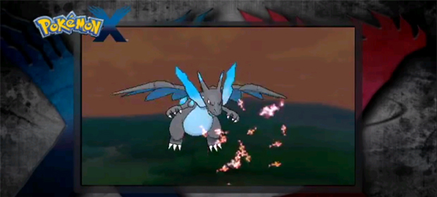 Mega Charizard X Breathes Blue Flames and Changes Type