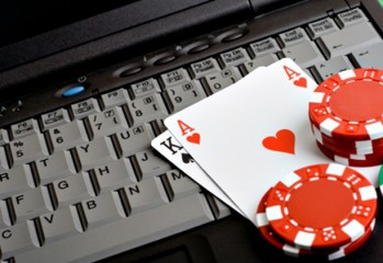 Poker laptop