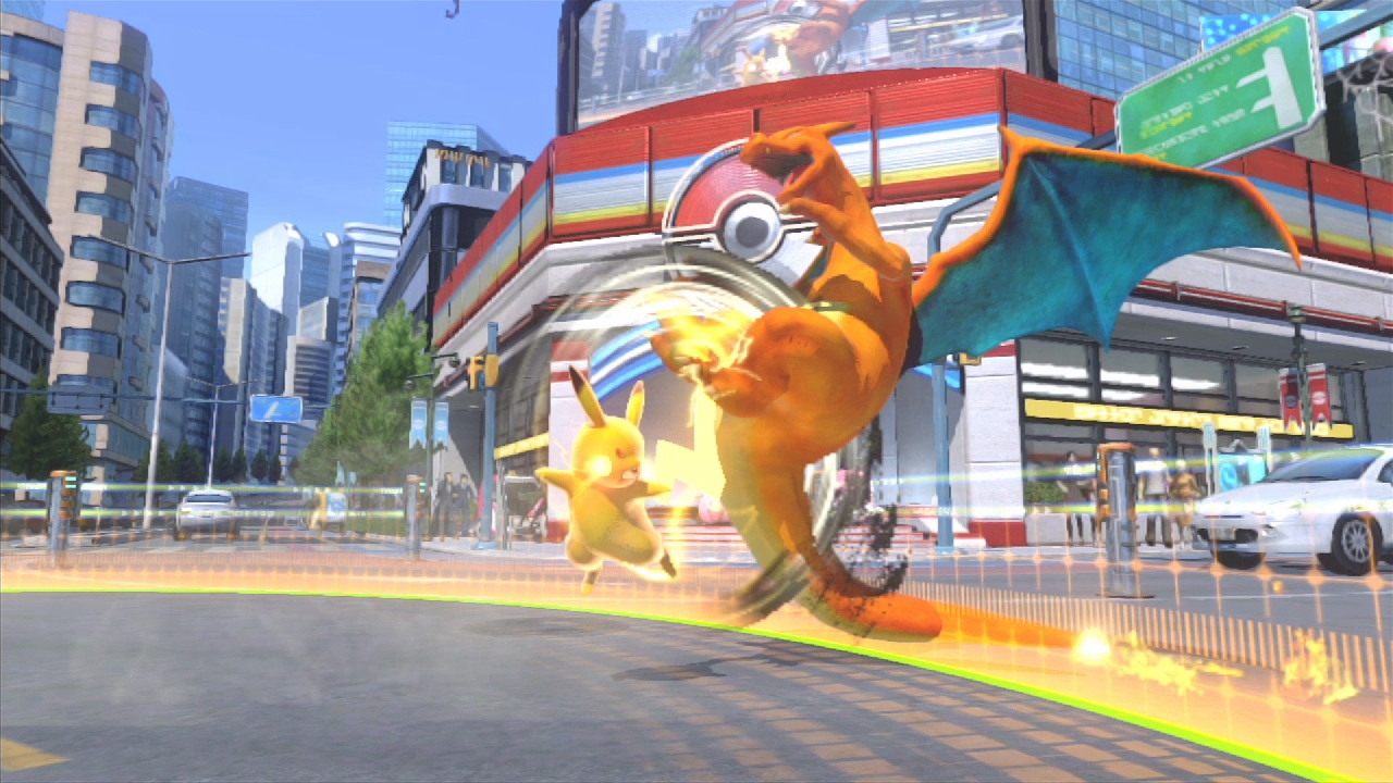 Pokken Tournament review screenshot