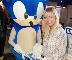 Sonic the Hedgehog & Pollyanna Woodward Open WCG Games at Eurogamer Expo