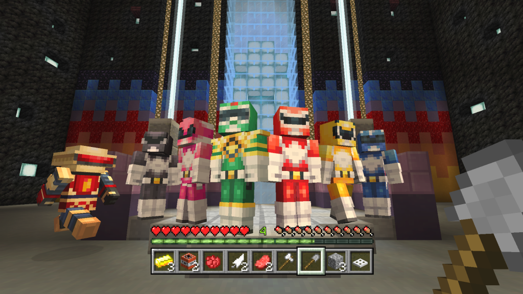 Power Rangers Skin Pack Now Available In Minecraft - Skins para minecraft pe de wwe