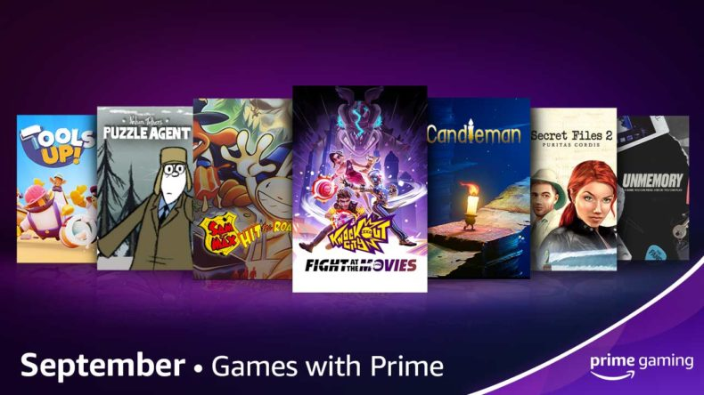 Prime Gaming September