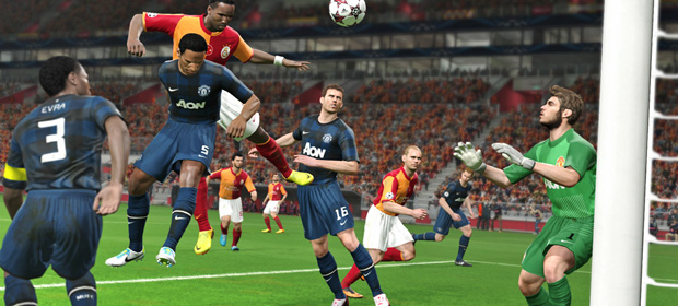 Pro Evolution Soccer 2014 featured