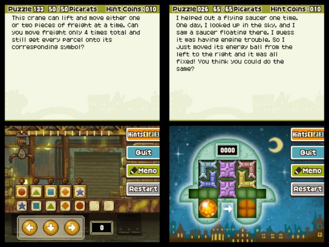 Prof Layton 4 - Puzzle
