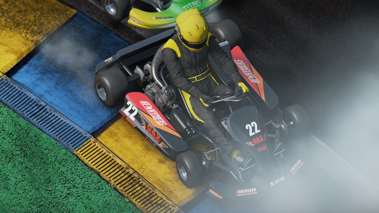 Project Cars Review PS4 - Karting