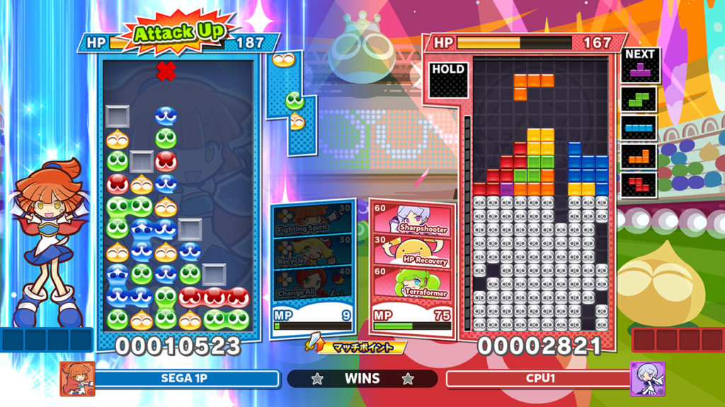 A screenshot of Puyo Puyo Tetris 2 from the Nintendo Direct mini Partner Showcase