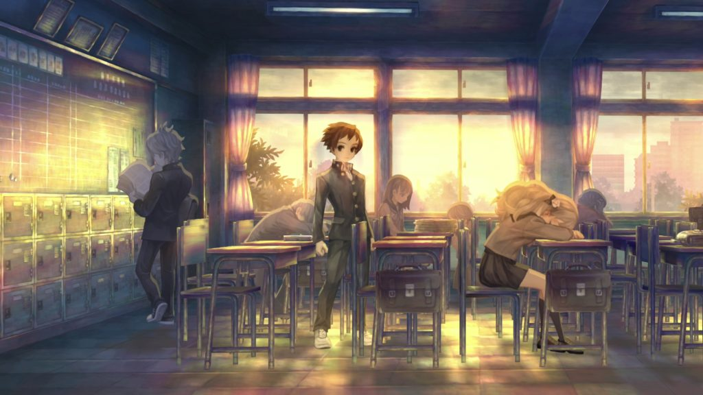 A screenshot of 13 Sentinels: Aegis Rim