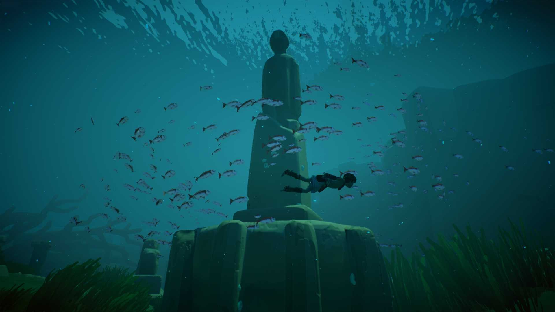 RIME screenshot underwater