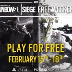 Tom Clancy's Rainbow Six Siege Gets free play weekend from February 15 to 18