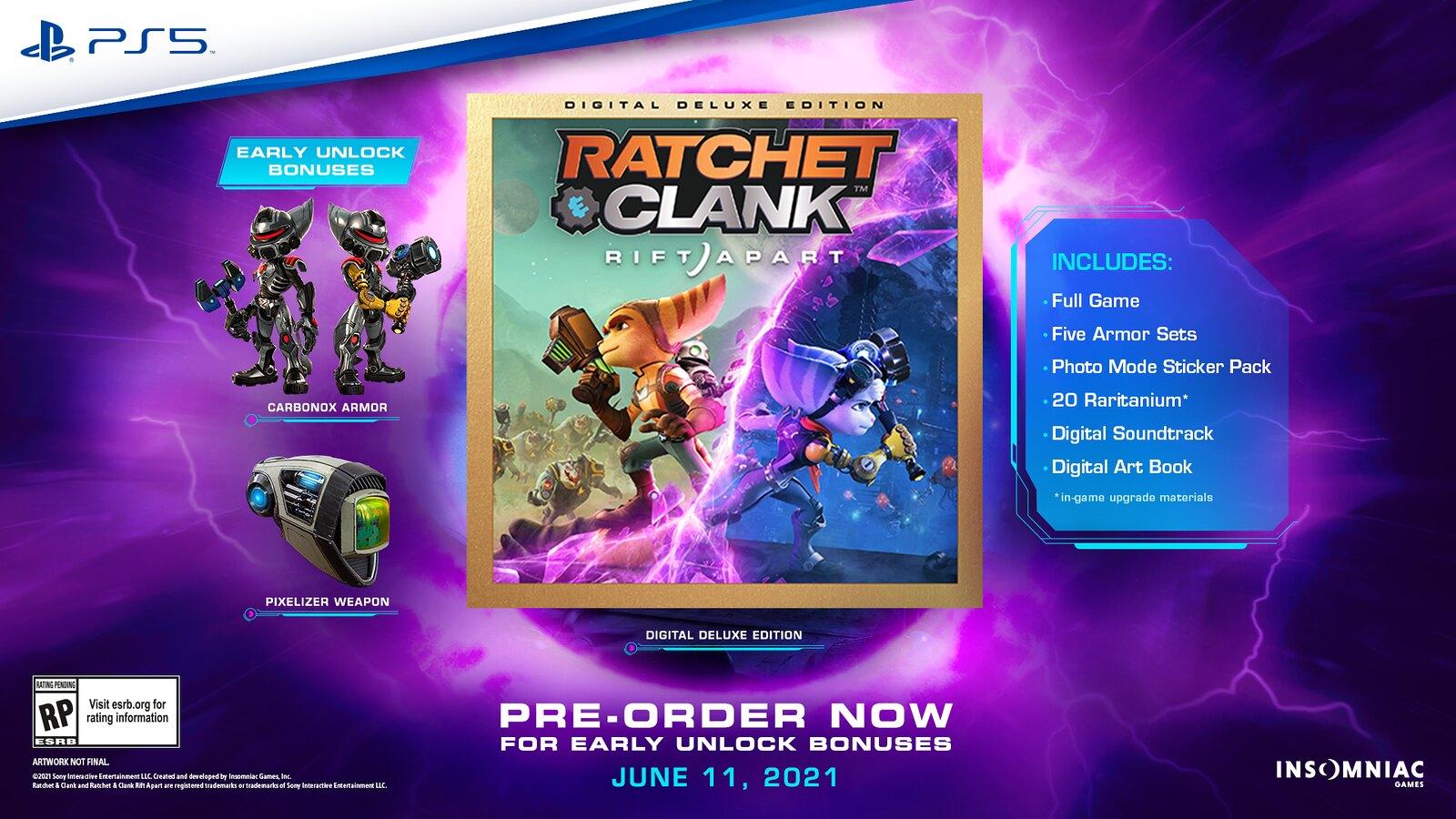 Ratchet & Clank: Rift Apart Pre-Order