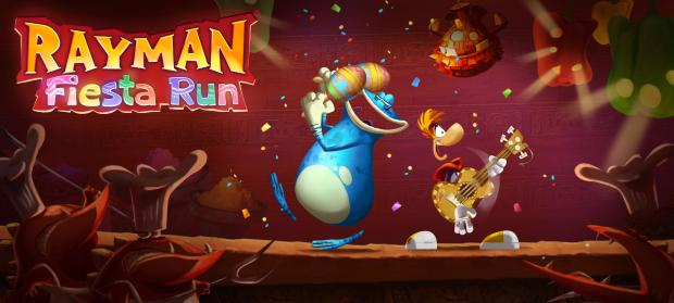 Rayman Fiesta Run Announced, Trailered