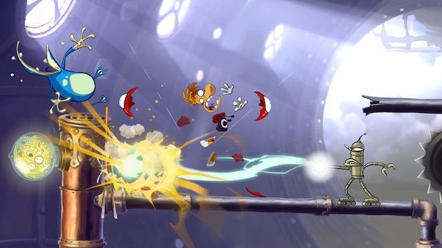 Rayman Origins - Attack