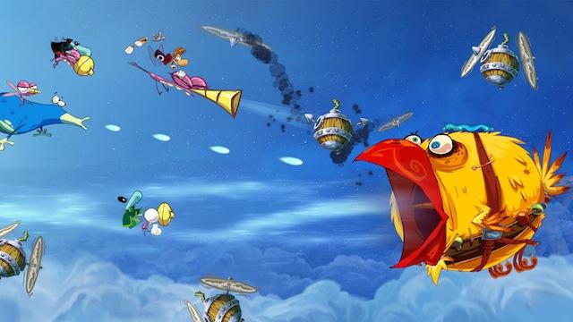Rayman Origins - Crazy Bird