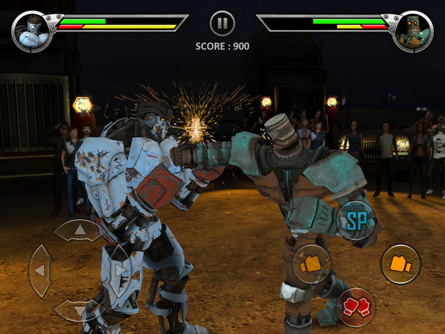 Real Steel - Where's the hadouken button?