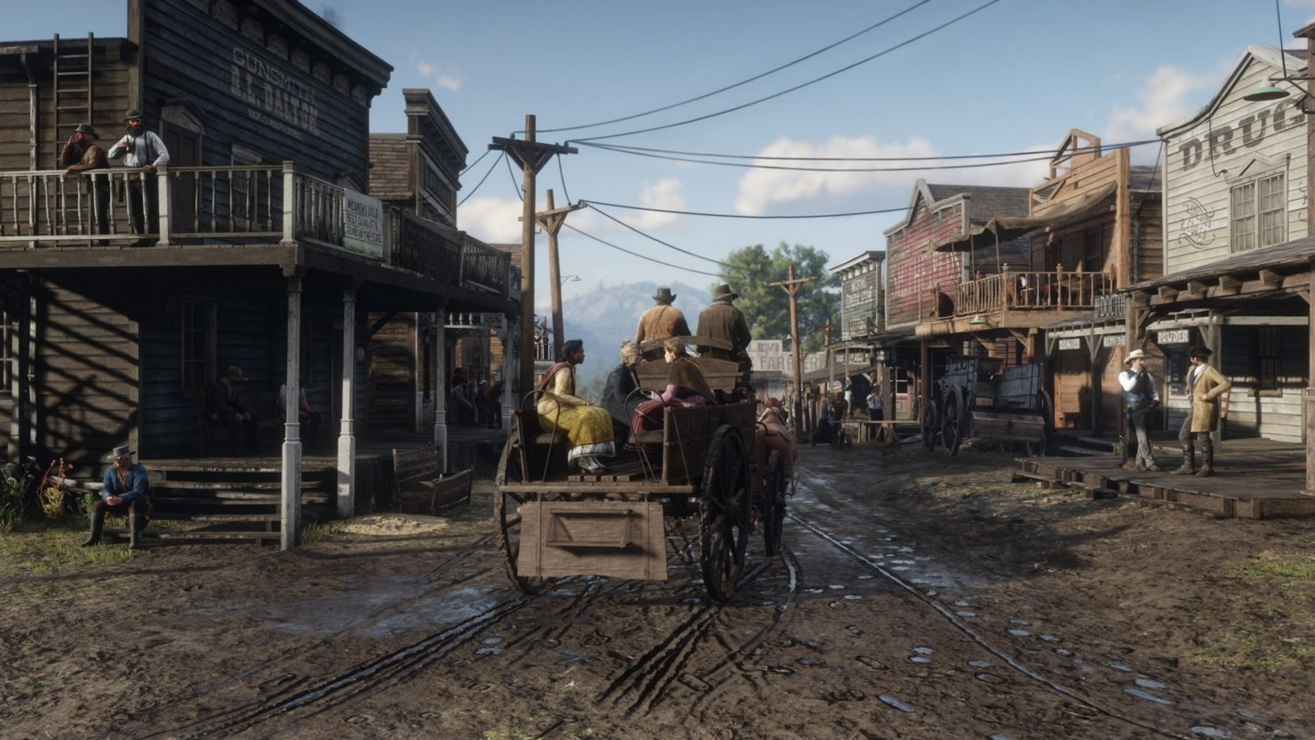 A screenshot from Red Dead Redemption 2 PC