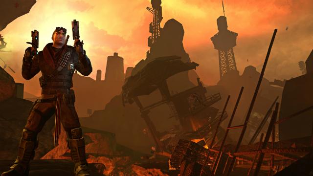 Red Faction: Armageddon - Mason Posing