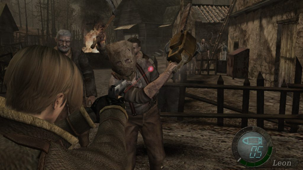 """Resident Evil 4: """"that hooded fella"""" indeed..."""