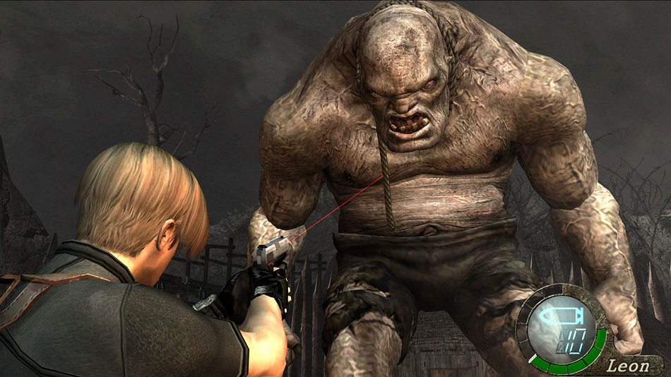 Resident Evil 4: You'll need to run, gun and dodge your way to survival