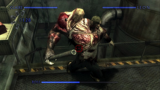 Resident Evil: Chronicles HD - Boss