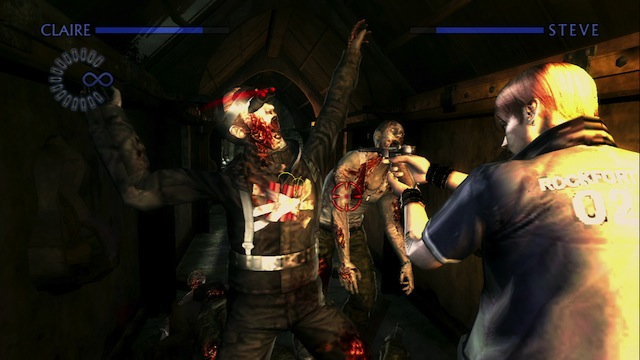 Resident Evil: Chronicles HD - Combat