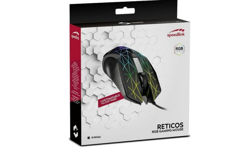 Speedlink Reticos RGB Gaming Mouse review
