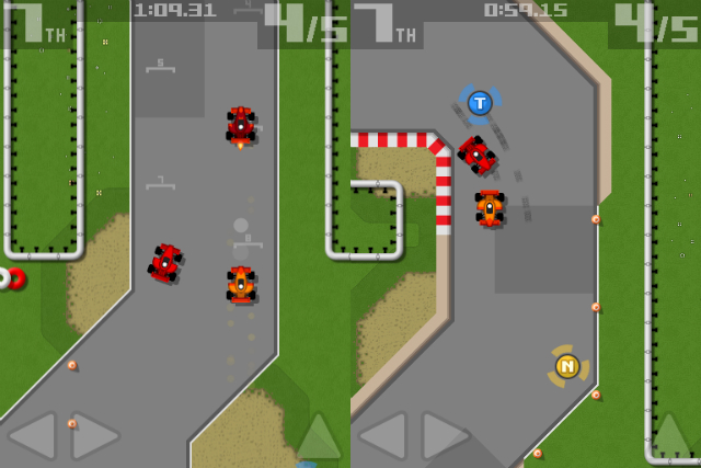 Retro Racing - Screenshot