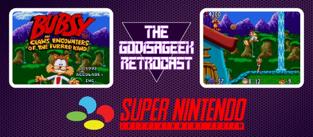 The Retrocast #14 – Bubsy (SNES)