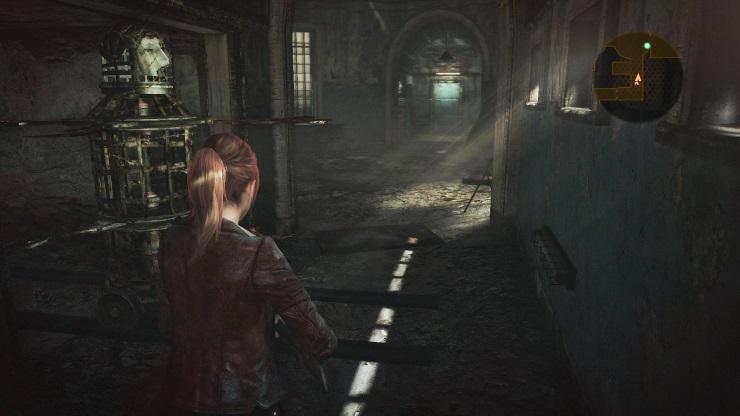 Revelations 2 - Claire traps