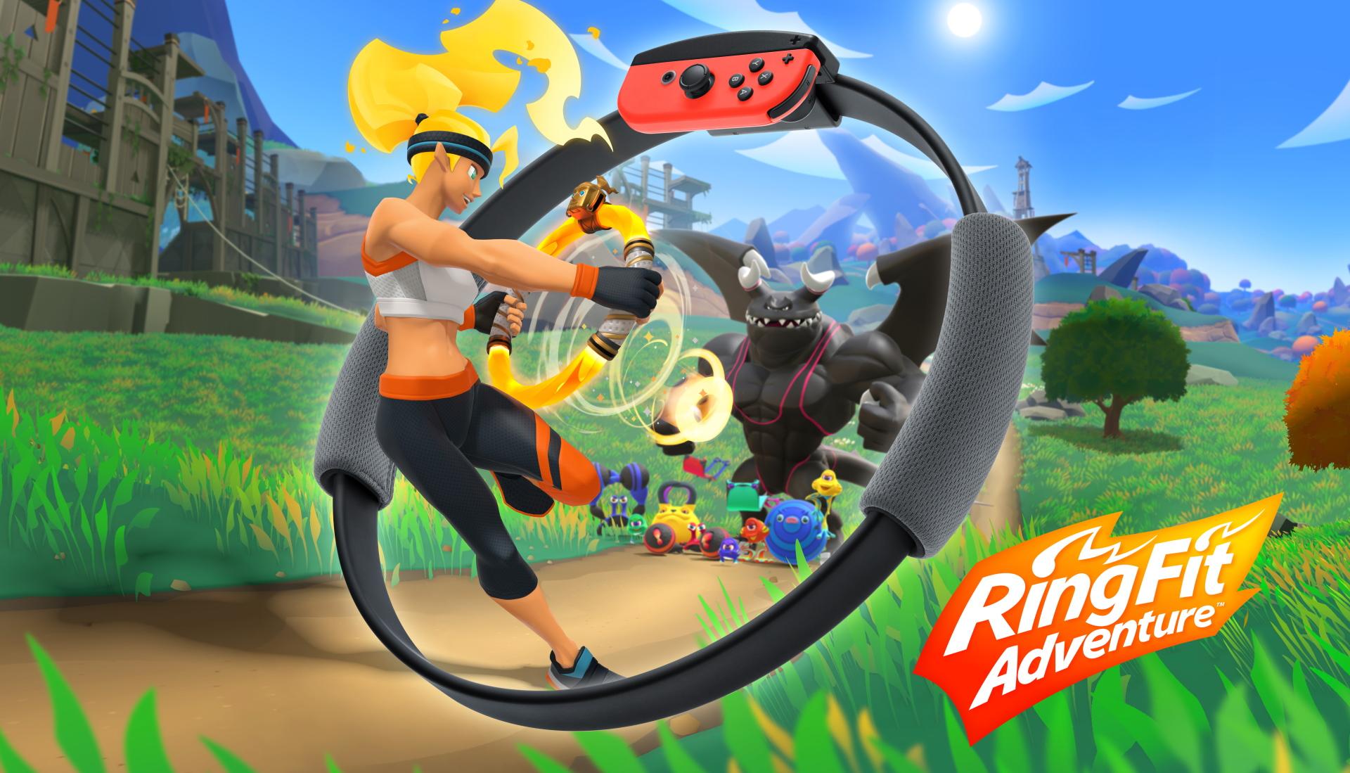 Ring Fit Adventure review - GodisaGeek.com